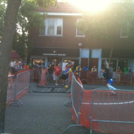 Photo taken at Amsterdam Tavern by Pete N. on 6/7/2012