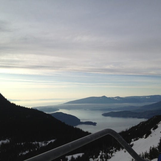 Photo taken at Cypress Mountain by Cenk D. on 2/9/2012