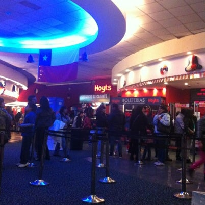 Photo taken at Cine Hoyts by Rafael S. on 9/8/2012