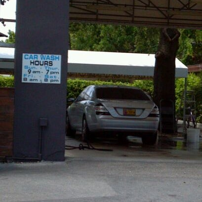 Photo taken at Karma Car Wash by Precious T. on 5/2/2012