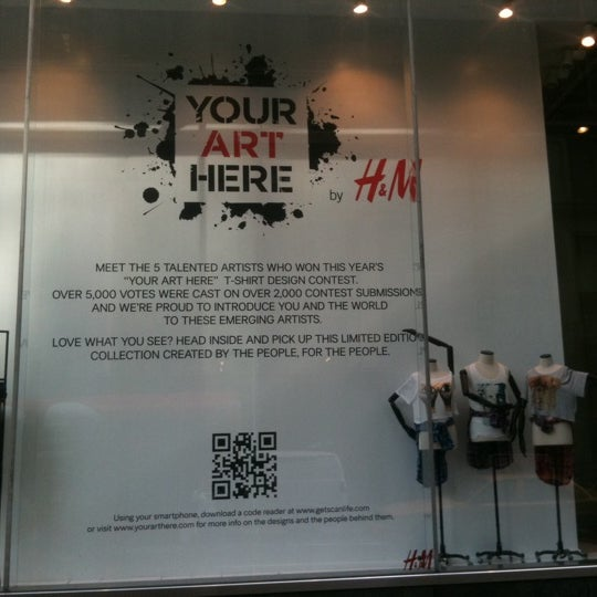 Photo taken at H&M by Olivia M. on 8/4/2011