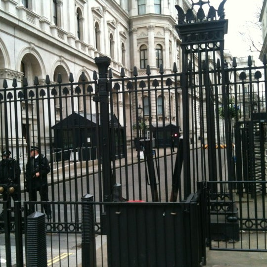 Photo taken at 10 Downing St. by Joe T. on 2/27/2012