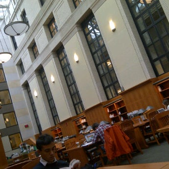Photo taken at Widener Library by Thiago A. on 10/13/2011