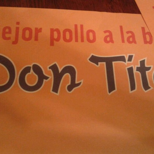 Photo taken at Don Tito by Diego C. on 3/24/2012