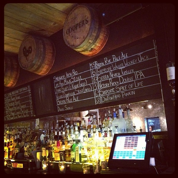 Cooper 39 s craft and kitchen east village 87 2nd ave for Coopers craft bourbon review