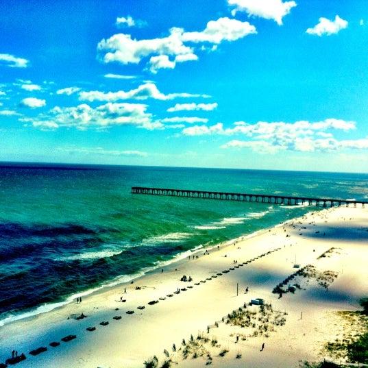 Photo taken at Hilton Pensacola Beach by Samantha on 6/25/2012