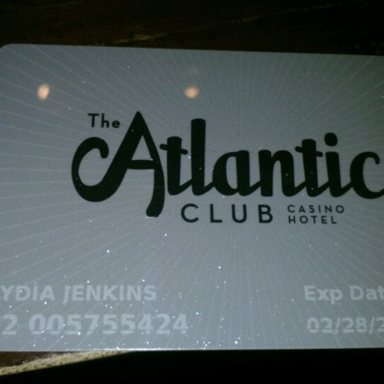 Photo taken at Atlantic Club Casino Hotel by Lydia J. on 6/24/2012