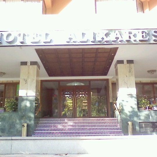 Photo taken at Hotel Alixares 4* by Masahiko S. on 6/14/2012