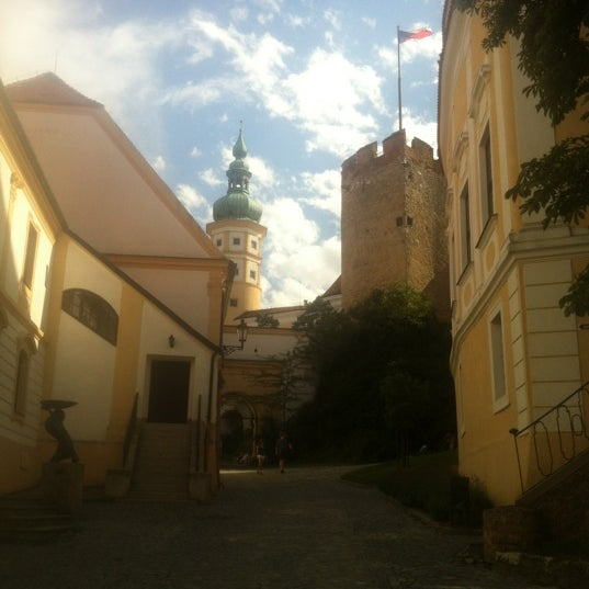 Photo taken at Zámek Mikulov by Helena on 7/8/2012