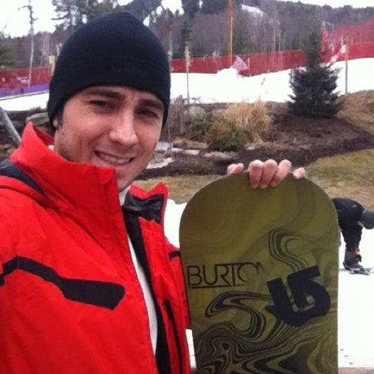 Photo taken at Pat's Peak Ski Area by José Carlos P. on 3/18/2012
