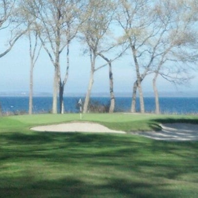 Photo taken at Quidnessett Country Club by Christopher G. on 4/21/2012