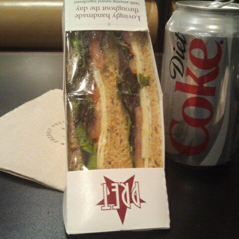 Photo taken at Pret A Manger by Hope B. on 8/26/2012