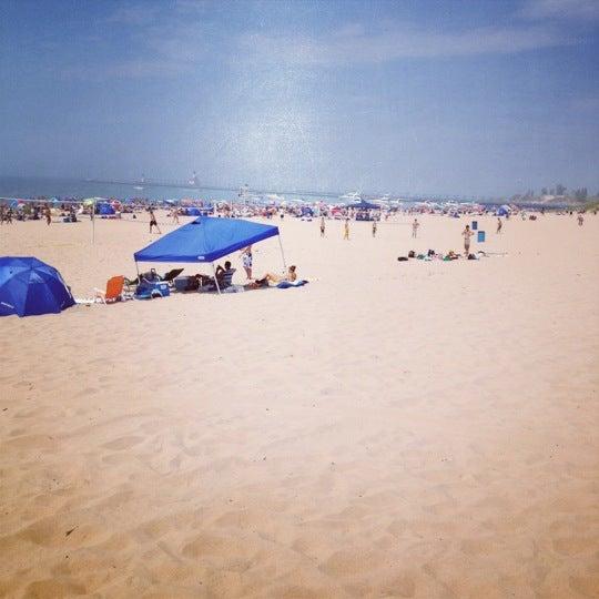 Photo taken at Silver Beach by Josh K. on 7/1/2012