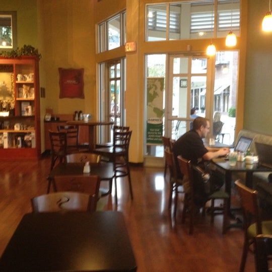 Photo taken at Barnie's Coffee & Tea Company by Allison L. on 11/19/2011