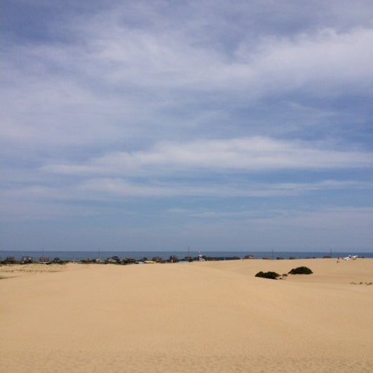 Photo taken at Jockey's Ridge State Park by Justin S. on 8/9/2012