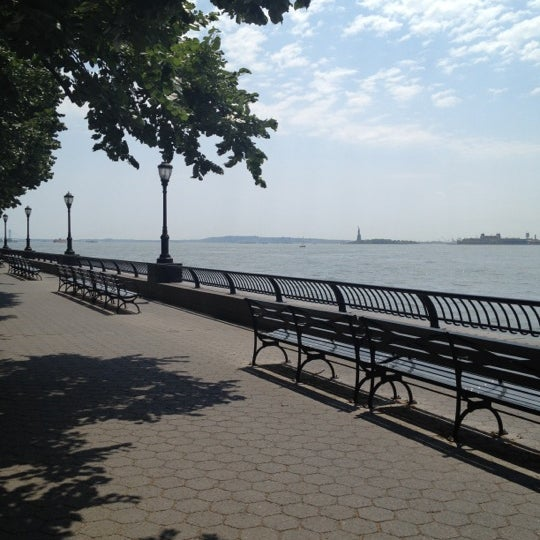 Photo taken at Battery Park City Esplanade by Melissa D. on 6/28/2012