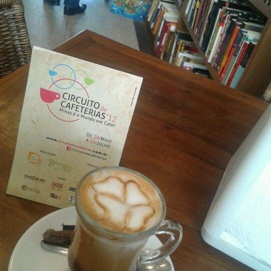 Photo taken at Café Book by Matheus C. on 6/29/2012