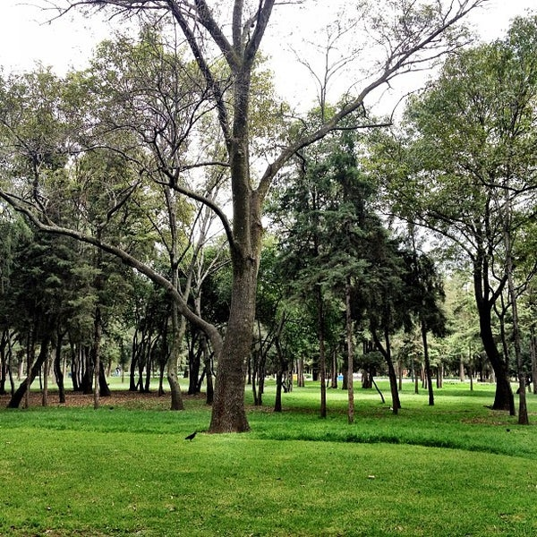 Photo taken at Bosque de Chapultepec by Marilin G. on 9/11/2012