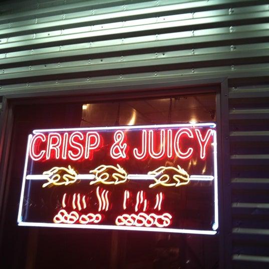 Photo taken at Crisp & Juicy Chicken by Shrita S. on 8/8/2011