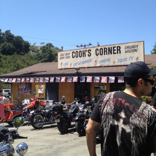 Photo taken at Cook's Corner by Katie R. on 5/28/2012