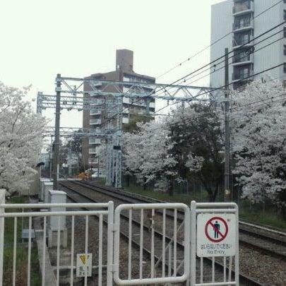 Photo taken at 阪急 南茨木駅 (Minami-ibaraki Sta.) (HK-68) by nullpop on 4/10/2012