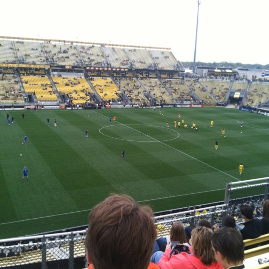 Photo taken at MAPFRE Stadium by Mark A. on 3/24/2012