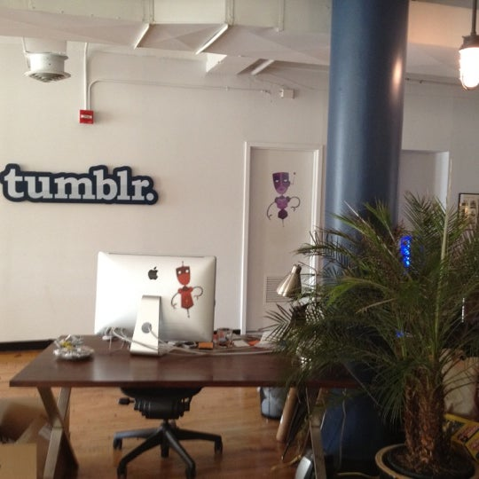 Photo taken at Tumblr HQ by Arnt E. on 11/21/2011
