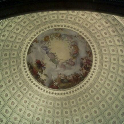Photo taken at Rotunda of the U.S. Capitol by Vanlook P. on 12/2/2011