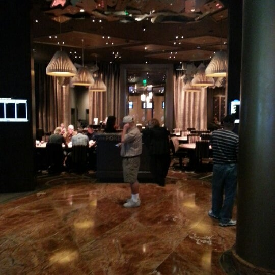 Photo taken at Aria Poker Room by Nick on 9/11/2012