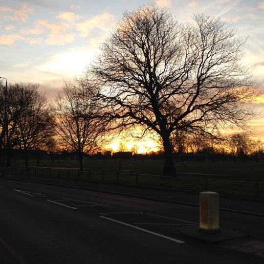 Photo taken at Clapham Common by Michael on 1/11/2012