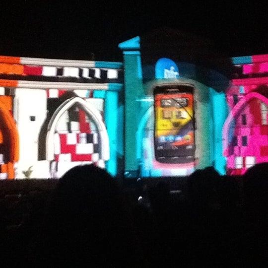 Photo taken at Tivoli Dome by Hesham S. on 3/23/2012