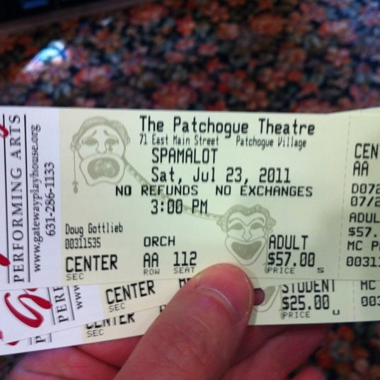 Photo taken at Patchogue Theatre by Douglas G. on 7/23/2011