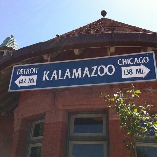 Photo taken at Kalamazoo Transportation Center - Amtrak (KAL) by Andy J. on 5/10/2012