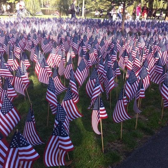 Photo taken at Massachhusetts 9/11/2001 Memorial by Mark T. on 9/11/2011