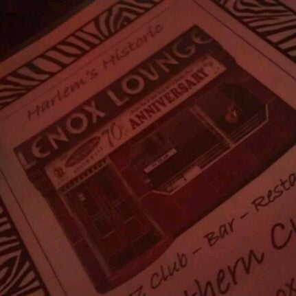 Photo taken at Lenox Lounge by Phoenix J. on 12/4/2011