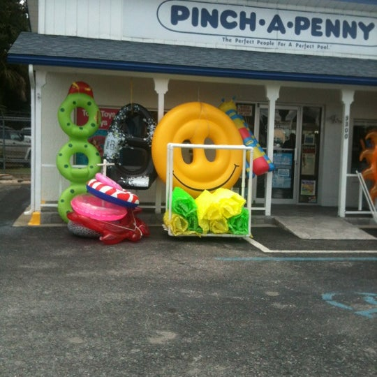 Photo taken at Pinch A Penny Swimming Pool Supplies by Tracy S. on 5/12/2012