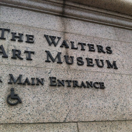 Photo taken at Walters Art Museum by Randy C. on 7/28/2012