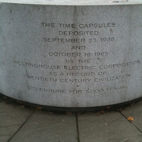 Photo taken at Westinghouse Time Capsules by Nicole F. on 11/22/2011