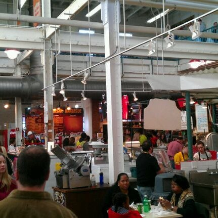Photo taken at North Market by Randi E. on 11/12/2011