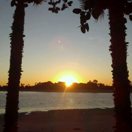 Photo taken at Paradise Point Resort & Spa by Dana C. on 12/24/2011