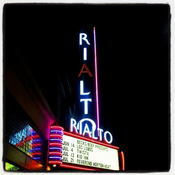 Photo taken at The Rialto Theatre by Damian Z. on 6/15/2012