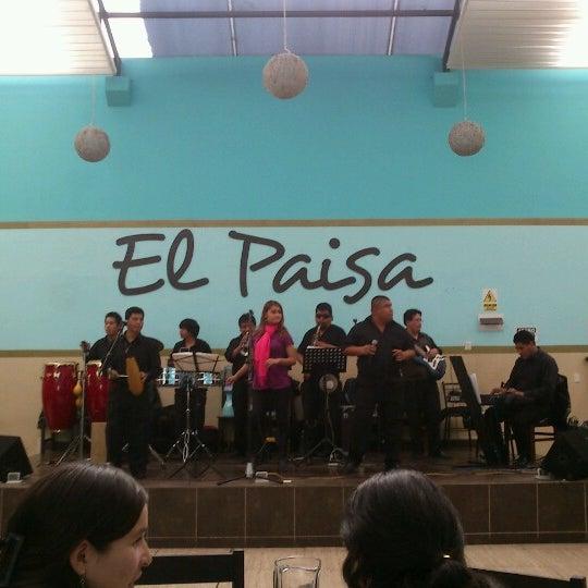 Photo taken at El Paisa by Jason S. on 6/28/2012