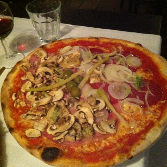 Photo taken at Karalis Pizzeria by Maria V. on 9/6/2012