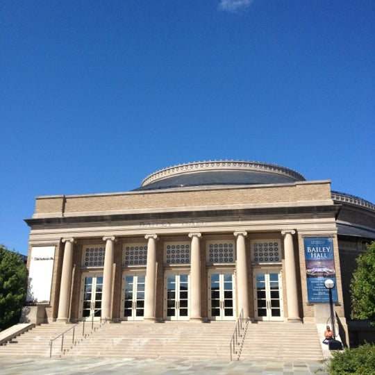 Photo taken at Bailey Hall by Jae J. on 8/29/2012