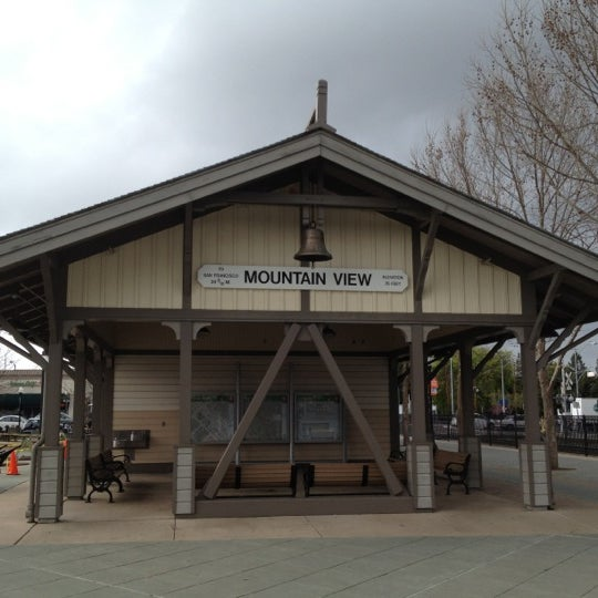 Mountain View Caltrain Station Old Mountain View 72 Tips