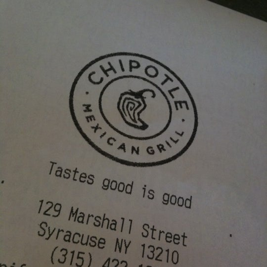 Photo taken at Chipotle Mexican Grill by Brad S. on 4/6/2011