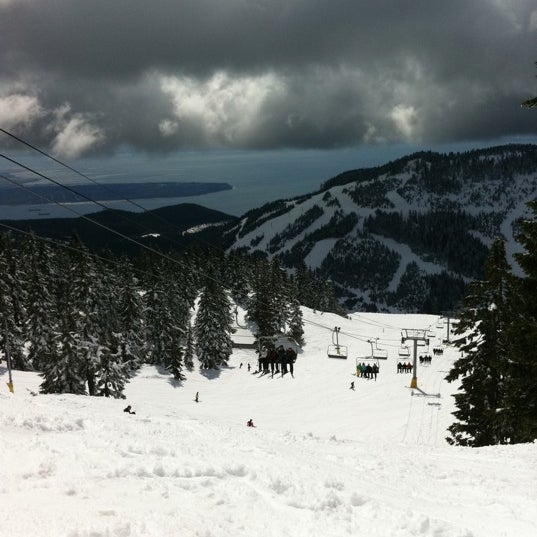 Photo taken at Cypress Mountain Ski Area by Jeff L. on 4/17/2011