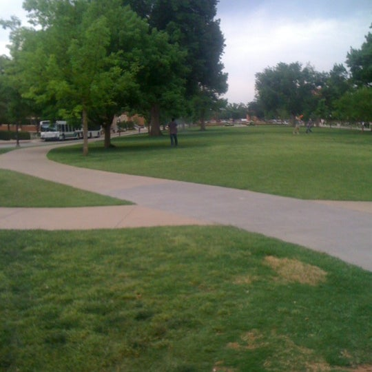 Photo taken at South Oval by Michael C. on 5/4/2012