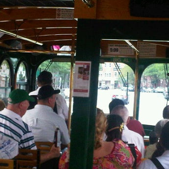 Photo taken at Old Town Trolley Tours of Boston by Julie H. on 9/25/2011