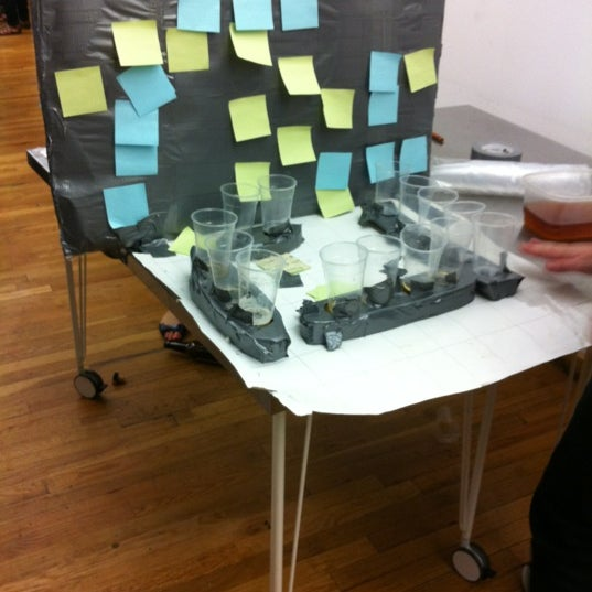 Photo taken at Thrillist HQ by qwertney on 5/18/2012